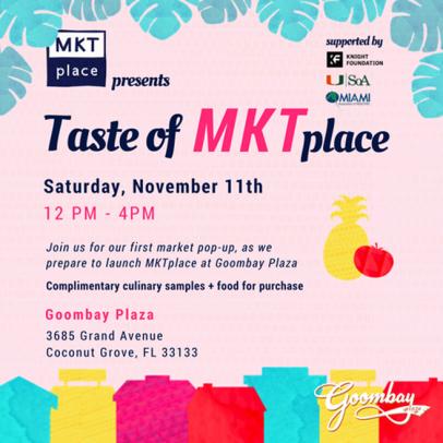 MKTplace at Goombay Plaza Pop-Up Market