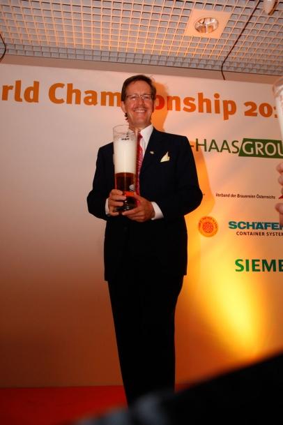 Don Lindsay, Beer Sommelier Vizeweltmeister 2013