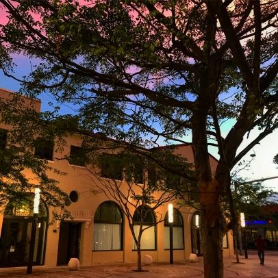 Giralda Plaza Sunset