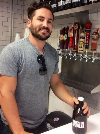 Mendez Fuel refills beer growlers