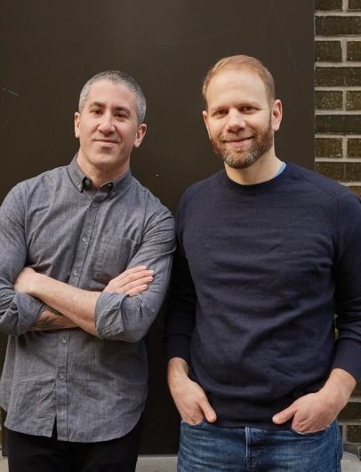 Michael Solomonov and Steven Cook (Photo: Mike Persico)