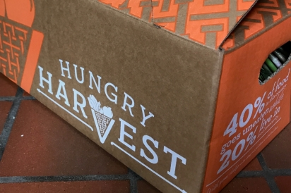 Hungry Harvest delivery box