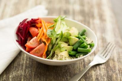 Rainbow Hemp and Quinoa Salad (Photo: Eat Real Food)