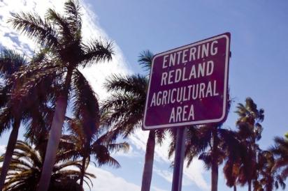Entering Redland Agricultural Area sign