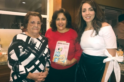 Three generations of cooking with Cocina Criolla: Maria Gonzalez, Emma Roca and Andi Roca