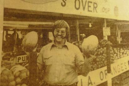 Vintage photo of Robert Is Here