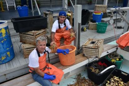 Tony Osborn and Paul Menta of Three Hands Fish
