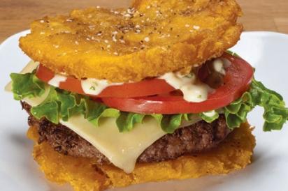 Pincho Factory's Toston Burger