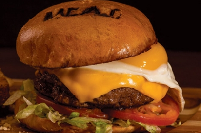 MEAT Eatery and Taproom's Inside-Out Juicy Lucy