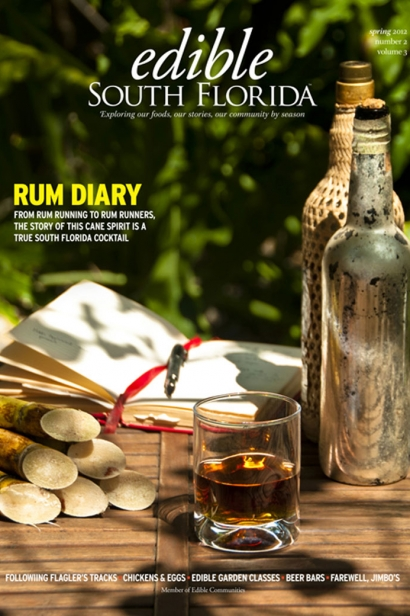 Edible South Florida Spring 2012, Issue #10 Cover