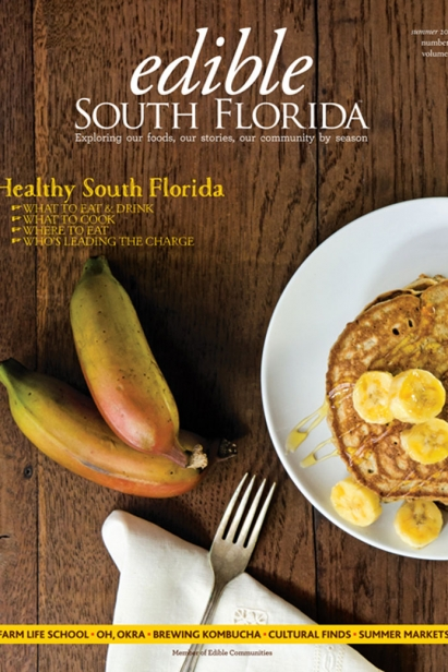 Edible South Florida Summer 2015, Issue #23 Cover