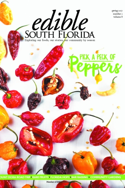 Edible South Florida Spring 2017, Issue #30 Cover