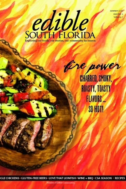 Edible South Florida Summer 2016, Issue #27 Cover
