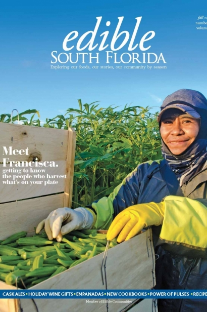 Edible South Florida Fall 2016, Issue #28 Cover