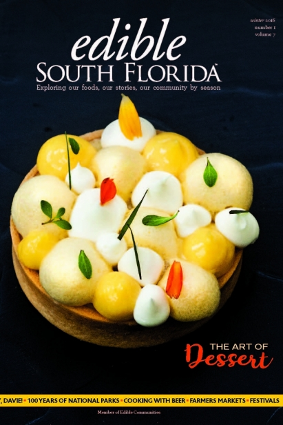 Edible South Florida Winter 2016, Issue #25 Cover
