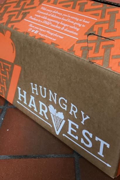 Hungry Harvest produce box