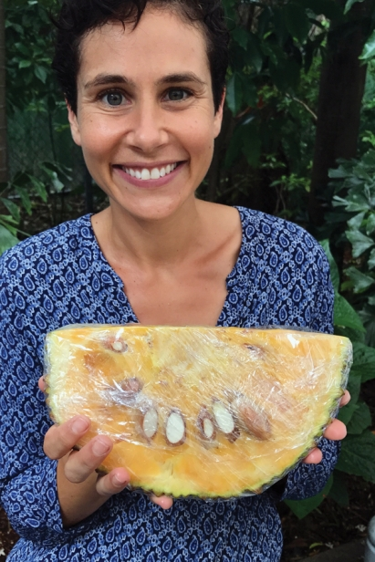 Adena relentlessly promotes the joy of jackfruit