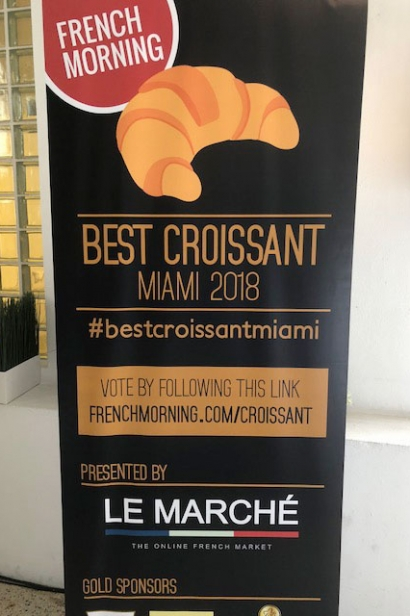 Best Croissant in Miami competition