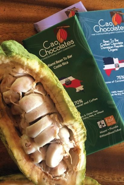 Cao Chocolate bars