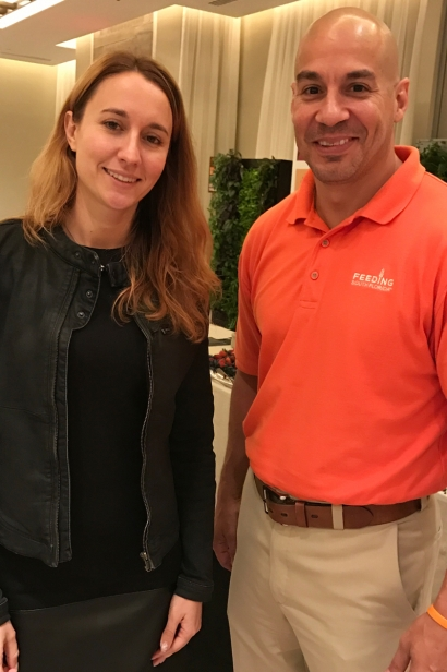 Anna Milaeva of Mangoes to Share and Paco Velez of Feeding South Florida