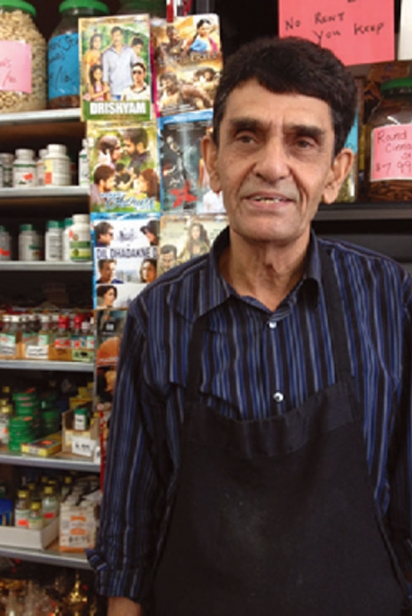 Asia Grocery owned by Khalid Khan