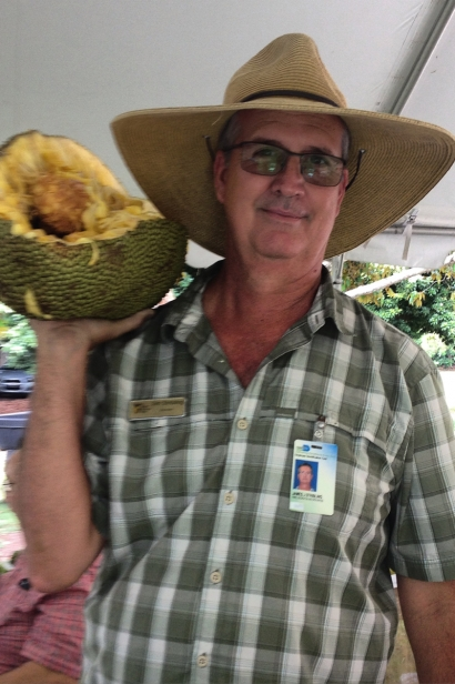 Fruit and Spice Park director James Stribling
