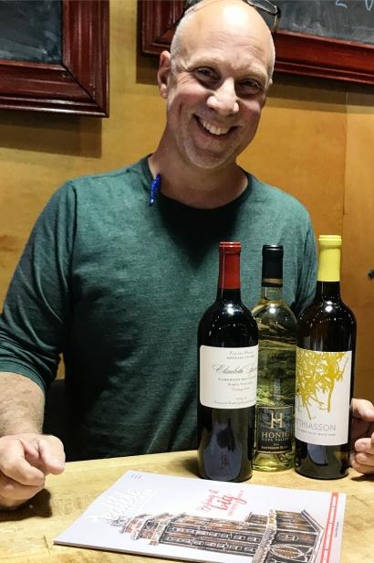 Jeffrey Wolfe of Wolfe's Wine Shoppe