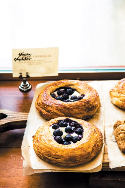 Pastries at Madruga Bakery