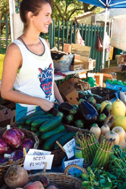 Fresh produce from Urban Oasis Project
