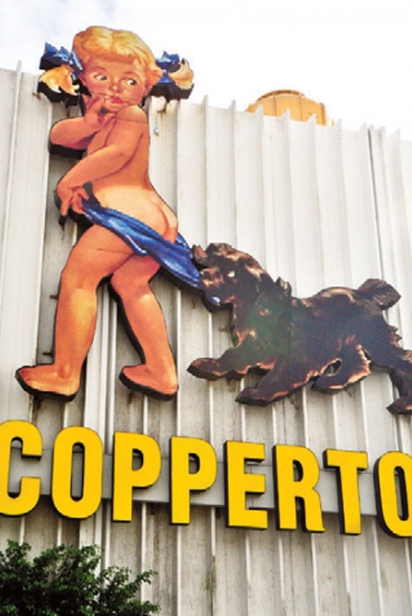 the Coppertone girl