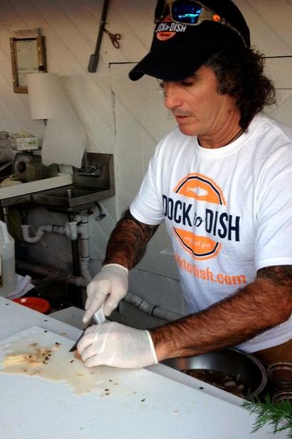 Chef and partner Paul Menta