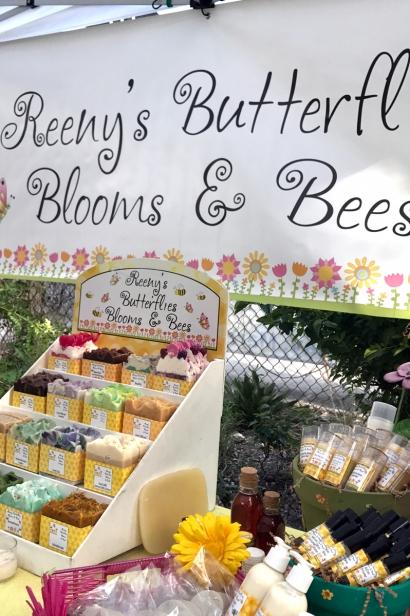 Reeny's Butterflies Blooms & Bees