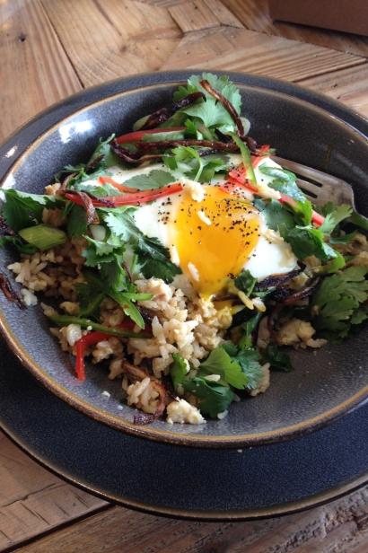 Threefold Cafe's nasi goreng
