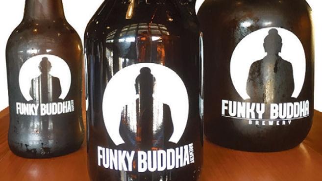 Funky Buddha Growlers in 3 sizes
