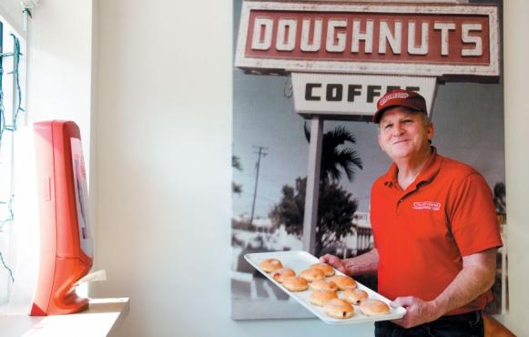 Robert Taylor of Velvet Creme Doughnuts