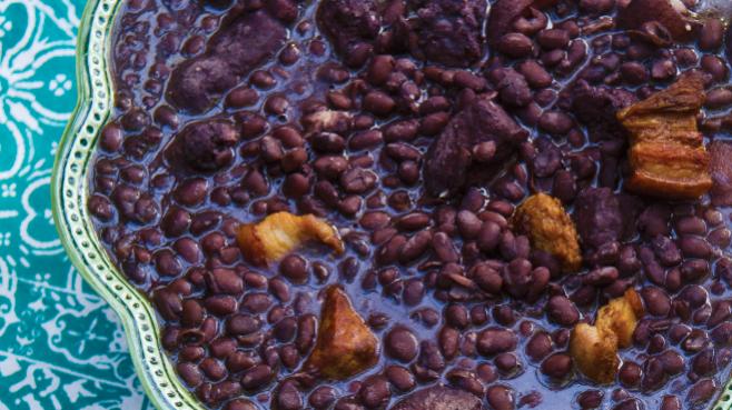 Feijoada, Brazilian pork and black bean stew