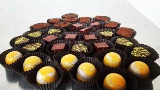 Exquisito chocolate bonbons