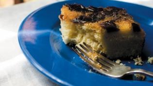 Sapodilla Upside Down Cake